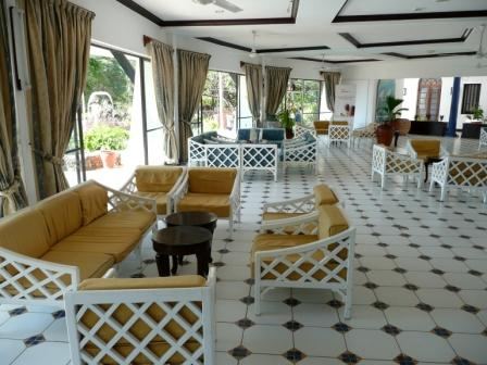 The Fountain Lounge at Nyali Beach Hotel