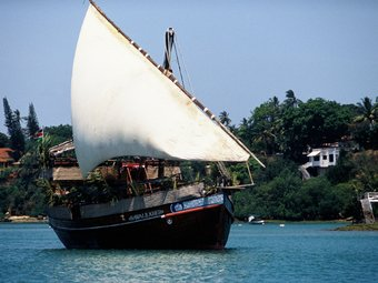 Tamarind Dhow Floating Restaurant