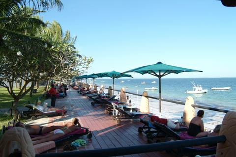 Bamburi Beach Hotel Deck
