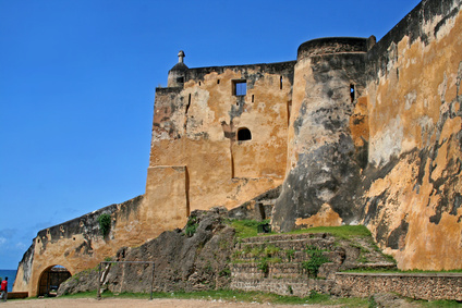 Fort Jesus in Mombassa, Kenya