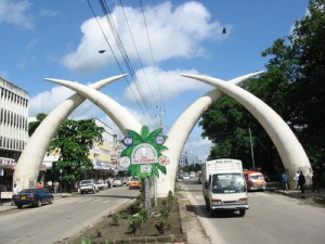 The Famous Mombasa Tusks