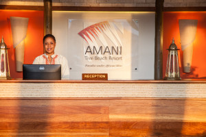 Amani Tiwi Reception