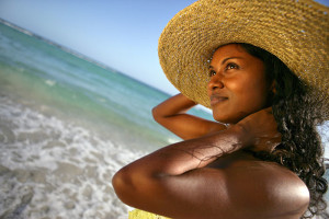 woman-beach-sun-skincare